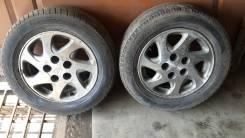 Продам 2 колеса на литье 195.65.15. 6.0x15 5x114.30 ET45