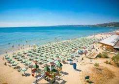 Болгария. Бургас. Пляжный отдых. Солнечная Болгария! Лето уже скоро.