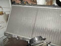 Радиатор охлаждения двигателя. Toyota Corsa, EL51, EL53, EL55, EXZ10, EXZ15 Toyota Raum, EXZ15, EXZ10 Двигатели: 5EFE, 4EFE
