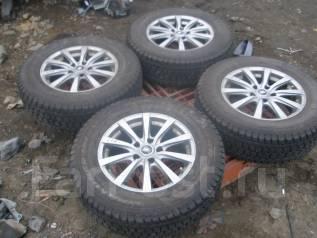 Комплект колес R16 Manarey Sport + резина зима!. 6.5x16 5x114.30 ET38