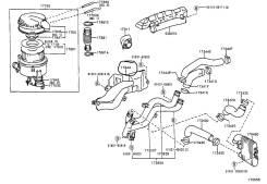 Панели и облицовка салона. Toyota Land Cruiser, HDJ101, HDJ100 Двигатель 1HDFTE