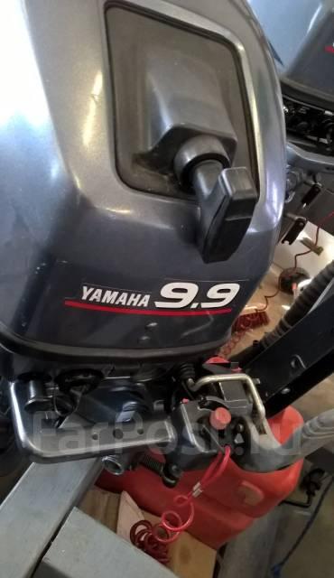 Yamaha. 9,90л.с., бензиновый, нога S (381 мм), Год: 1998 год