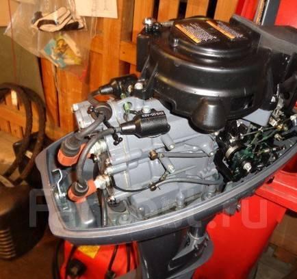 Yamaha. 9,90л.с., 2-тактный, бензиновый, нога S (381 мм), Год: 2006 год