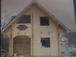 Строительство малоэтажных домов и бань из бруса.
