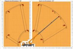 Камаз 65115. Подъемник на автокране ПКС-55713-1К-3 на шасси Камаз-65115, 250 кг., 31 м.