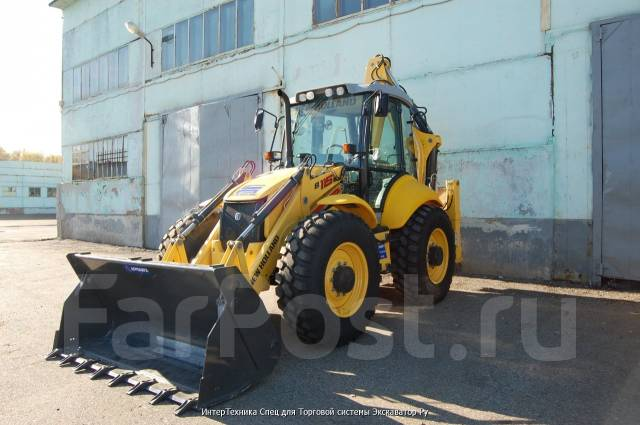 New Holland B115B. Экскаватор-погрузчик , 0,22 куб. м.