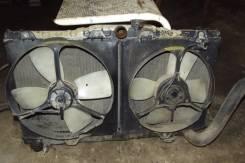 Радиатор охлаждения двигателя. Toyota Carina, ST162 Toyota Carina ED, ST160, ST162