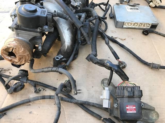 Проставка дроссельной заслонки. Toyota Chaser, JZX100 Toyota Cresta, JZX100 Toyota Mark II, JZX100 Двигатель 1JZGTE
