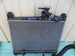 Радиатор охлаждения двигателя. Toyota ist, NCP61, NCP60