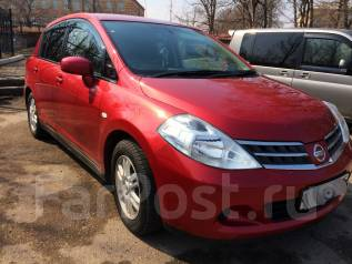 Nissan Tiida. вариатор, передний, 1.5 (109 л.с.), бензин, 100 тыс. км