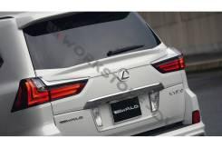 Спойлер на заднее стекло. Lexus LX450d, URJ200 Lexus LX570, SUV, URJ201, URJ201W, URJ200 Двигатели: 1VDFTV, 3URFE. Под заказ