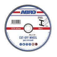 Диск отрезной по металлу 125x2.5x22 Abro CD-12525-R