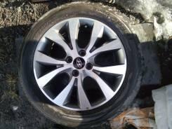 Комплект колес на Солярис (оригинальное литье на R16). x16 4x100.00