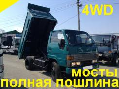 Toyota Dyna. 4WD, самосвал 3 тонны, 3 700 куб. см., 3 000 кг.