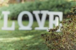 Буквы LOVE на свадьбу (аренда)