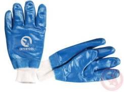 Перчатки с нитриловым покрытием РП-Эконом на х/б основе