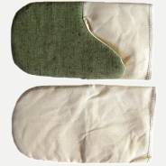 Рукавицы виброзащитные (антивибрационные) с брезентовым наладонником