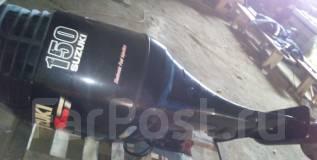 Suzuki. 150,00л.с., 4х тактный, бензин, нога X (635 мм), Год: 2006 год