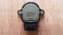 Датчик положения дроссельной заслонки. Toyota: Corolla Verso, Ipsum, Cynos, Yaris, WiLL Cypha, RAV4, Matrix, Succeed, Vitz, Corona, Crown, Avensis, Co...