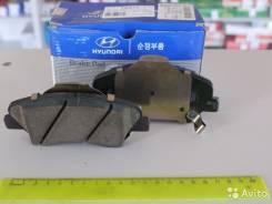 Колодка тормозная. Hyundai Solaris Kia Rio