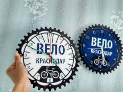 Велосипедные часы из металла. Экслюзив.