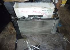 Радиатор охлаждения двигателя. Toyota Corolla Spacio, NZE121, NZE121N