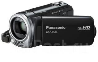 Panasonic HDC-SD40. 15 - 19.9 Мп, без объектива