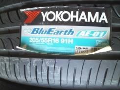 Yokohama BluEarth AE-01. Летние, 2016 год, без износа, 4 шт