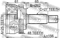 Шрус подвески. Hyundai ix35 Hyundai Tucson Двигатель D4BB