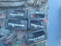 Ручка двери внутренняя. Toyota Carina, AT190