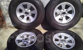 Колеса на зимней резине 265/70/R16 Bridgestone Blizzak DM-V1. 7.0x16 6x139.70 ET26 ЦО 108,0мм.