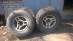 Продам комплект колёс. 8.5x16 6x139.70 ET-10 ЦО 110,0мм.
