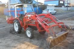Yanmar. Японский трактор с фронтальным погрузчиком, 1 500 куб. см.