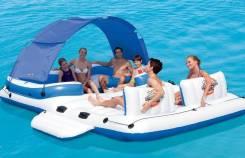 Надувной плот для отдыха на воде, 389х274 см, на 6 чел Bestway 43105. Под заказ