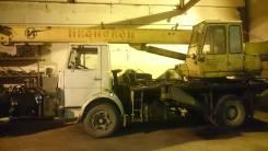 МАЗ. Кран Маз, 14 000 кг., 14 м.