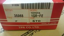 Кольца поршневые. Toyota: Hilux Surf, Tundra, 4Runner, Land Cruiser, Hilux, Land Cruiser Prado, Tacoma, FJ Cruiser, Fortuner Двигатели: 1GRFE, 5LE, 2K...