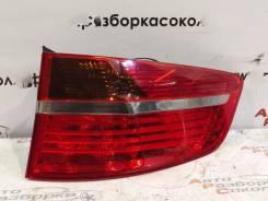 Фонарь наружный BMW X6 E71 2008-2014, правый задний