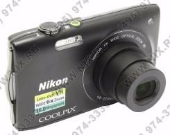 Nikon Coolpix S3300. 15 - 19.9 Мп, зум: 7х