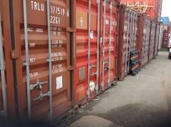 Сдаю 20 футовые контейнера под склад. 15 кв.м., улица Днепровская 29, р-н БАМ. Дом снаружи