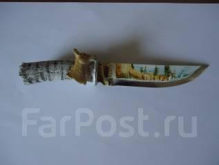 Нож. Ручная работа. Отличный подарок на 23 февраля.