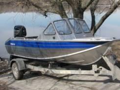 Rusboat. Год: 2017 год, длина 4,50м., двигатель подвесной, 60,00л.с., бензин