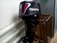 Tohatsu. 30,00л.с., 2х тактный, бензин, нога S (381 мм), Год: 2017 год