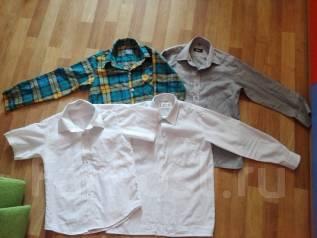 Рубашки. Рост: 128-134, 134-140 см