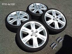Диски с резиной Toyota Vitz RS. x50 4x100.00