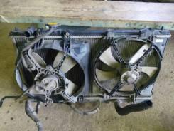 Вентилятор охлаждения радиатора. Mazda Premacy