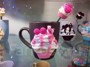 Чайная кружка - Вкусная кружка Ау 803 Любимый десерт
