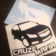 Наклейка. Chevrolet Cruze