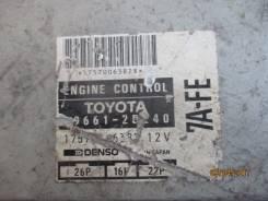 Блок управления двс. Toyota Carina Двигатель 7AFE