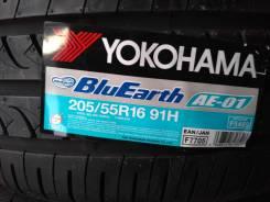 Yokohama BluEarth AE-01. Летние, 2017 год, без износа, 4 шт
