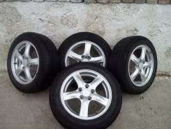 Колеса, шины, литые диски. 4.0x16 5x98.00 ET-98 ЦО 52,0мм.
